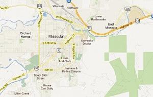 Missoula Map